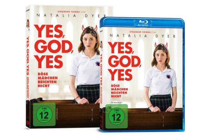 """""""Yes, God, Yes - Böse Mädchen beichten nicht"""" ist ab 05.02.2021 auf DVD und Blu-ray erhältlich. Bereits ab 29.01.2021 ist die Komödie digital verfügbar."""