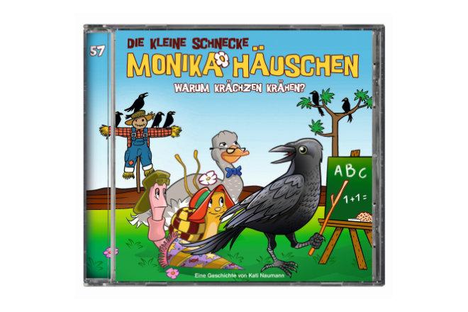"""Die 57. Folge der Hörspielreihe """"Die kleine Schnecke Monika Häuschen"""" ist ab 07.08.2020 erhältlich"""