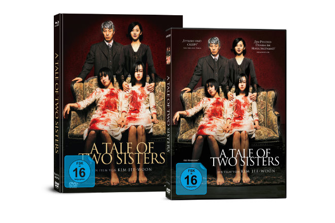 """A Tale of Two Sisters"" ist ab 29.11.2019 auf DVD und als 2-Disc Limited Collector´s Edition im Mediabook (Blu-ray + DVD) erhältlich."