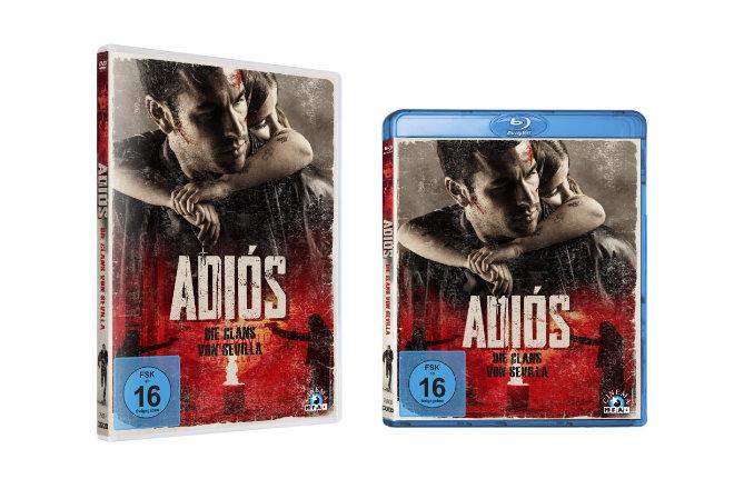 """""""Adiós - Die Clans von Sevilla"""" ist ab 05.11.2020 auf Blu-ray, DVD und als Video on Demand erhältlich."""