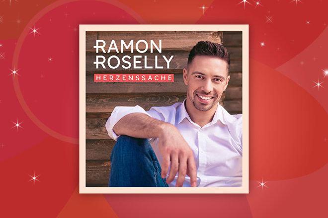 """Gewinnen Sie hinter dem 2. Türchen unseres großen HappySpots Adventskalender Gewinnspiels eines von 3 Alben """"Herzenssache"""" von Ramon Roselly."""
