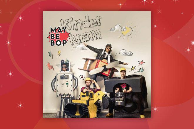 """Hinter dem vierten Türchen unseres Adventskalender Gewinnspiels geht es heute um das Album """"Kinderkram"""" von Maybebop"""
