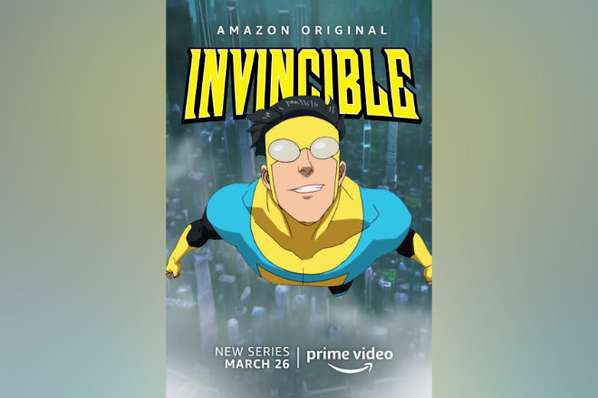 "Die Amazon Original Animationsserie ""Invincible"" läuft ab 26.03.2021 bei Prime Video."