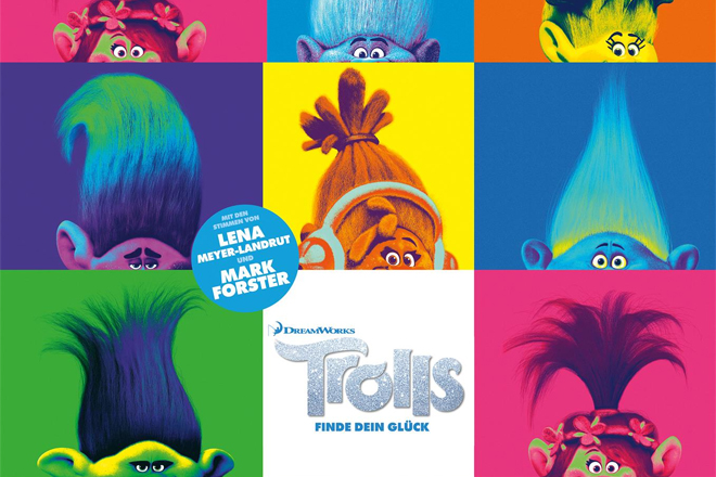 """Trolls"": Am 28. Oktober 2016 als Walking Act im UFA Kristallpalast Dresedn"