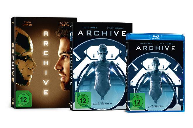 """""""Archive"""" ist ab 05.11.2020 auf DVD, Blu-ray, 2-Disc Limited Collector´s Edition im Mediabook (mit Blu-ray und DVD) sowie bereits seit 22.10.2020 digital verfügbar."""