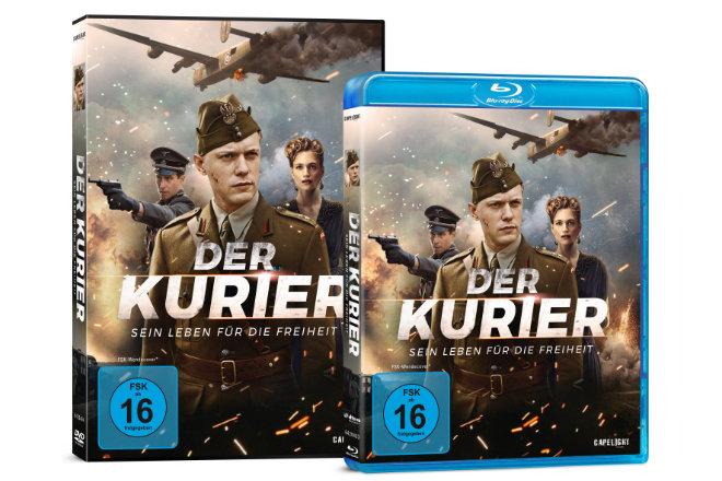 """""""Der Kurier - Sein Leben für die Freiheit"""" ab 21.08.2020 als DVD, Blu-ray und ab 14.08.2020 digital verfügbar"""
