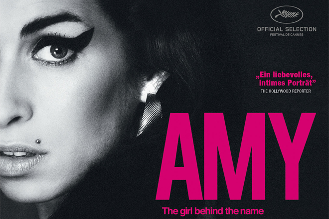 "Bei HappySpots zu gewinnen. Eine Blu-Ray ""Amy - The Girl Behind The Name"" über Amy Winehouse"