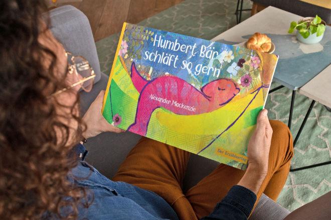Das jetzt ins Deutsche übersetzte Buch von Humbert dem Bären mit vielen Abbildungen will allen Generationen Mut auch für schwierige Situationen machen.