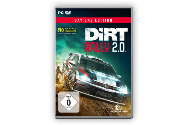 """DiRT Rally 2.0"" ist ab sofort weltweit für PS4, Xbox One X und PC als auch in der ""DiRT Rally 2.0 Day One Edition"" sowie in der exklusiven ""DiRT Rally 2.0 Deluxe Edition"" erhältlich."