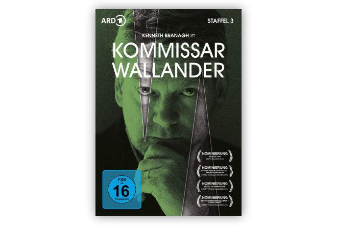 """Edel Motion präsentiert am 19.03.2021 """"Kommissar Wallander - Staffel 3"""" auf DVD. Digital ist Staffel 3 der populären Wallander-Reihe bereits ab 05.03.2021 erhältlich."""