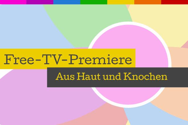 """Die Free-TV-Premiere des Dramas """"Aus Haut und Knochen"""" läuft am 01.12.2020 um 20.15 Uhr in SAT.1."""