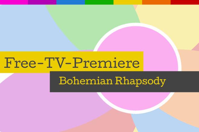 """Die Free-TV-Premiere """"Bohemian Rhapsody"""" läuft am 04.10.2020 um 20.15 Uhr auf ProSieben."""