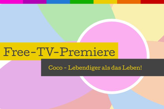 """Die Free-TV-Premiere """"Coco - Lebendiger als das Leben!"""" läuft am 31.10.2020 um 20.15 Uhr in SAT.1."""