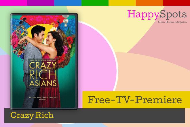 """Die Free-TV-Premiere """"Crazy Rich"""" läuft am 23.01.2021 um 20.15 Uhr bei ProSieben."""