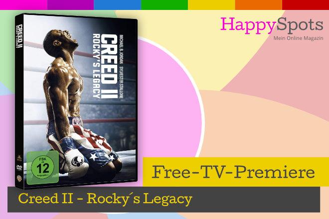 """Die Free-TV-Premiere """"Creed II - Rocky´s Legacy"""" läuft am 28.02.2021 um 20.15 Uhr bei RTL."""