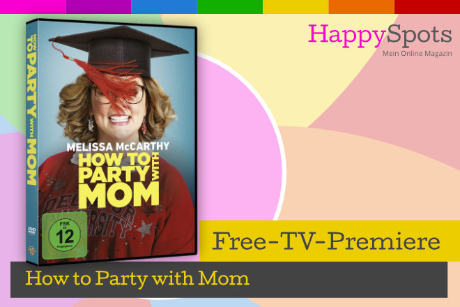 "Die Free-TV-Premiere ""How to Party with Mom"" läuft am 20.01.2021 um 20.15 Uhr bei ProSieben."