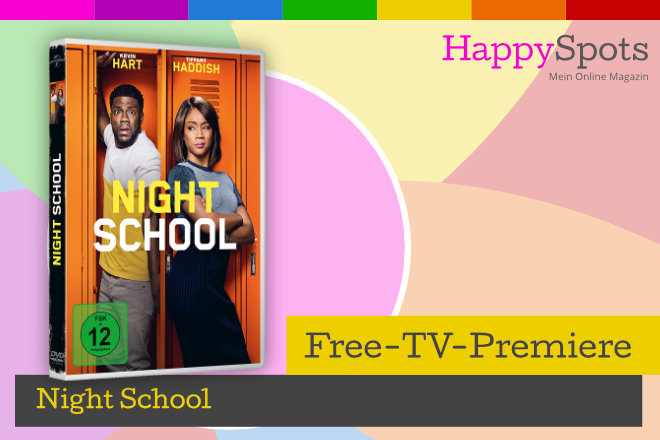 """Die Free-TV-Premiere """"Night School"""" läuft am 06.03.2021 um 20.15 Uhr bei VOX."""