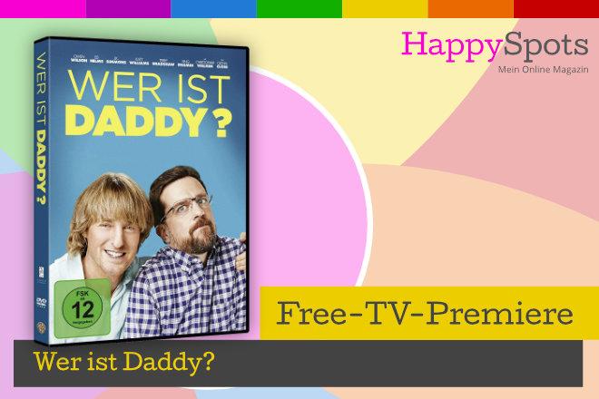 """Die Free-TV-Premiere """"Wer ist Daddy?"""" läuft am 27.01.2021 um 20.15 Uhr bei ProSieben."""