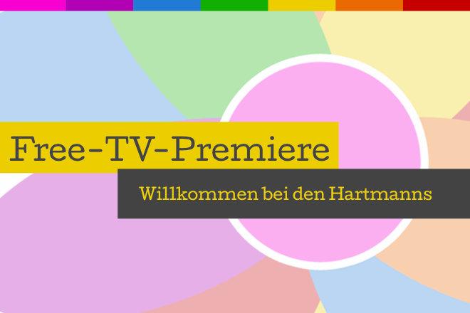 """Die Free-TV-Premiere """"Willkommen bei den Hartmanns"""" lief am 01.09.2019 um 20.15 Uhr bei SAT.1."""