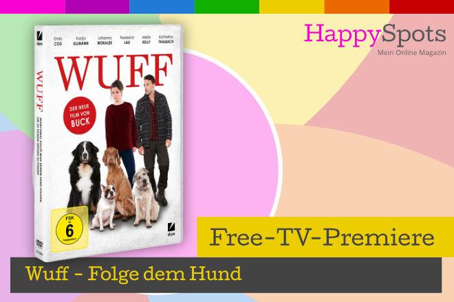 """Die Free-TV-Premiere """"Wuff - Folge dem Hund"""" läuft am 19.01.2021 um 20.15 Uhr in SAT.1."""