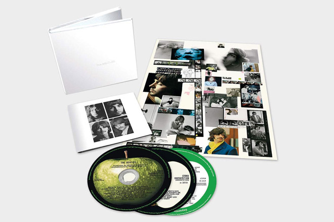 "Am 9. November 2018 erscheint die limitierte Deluxe 3CD-Version des ""The BEATLES (White Album)""."