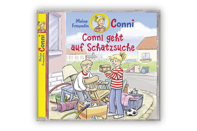 """Das neue Hörspiel """"Conni geht auf Schatzsuche"""" wird am 02.10.2020 bei Universal Music Family Entertainment/Karussell veröffentlicht."""