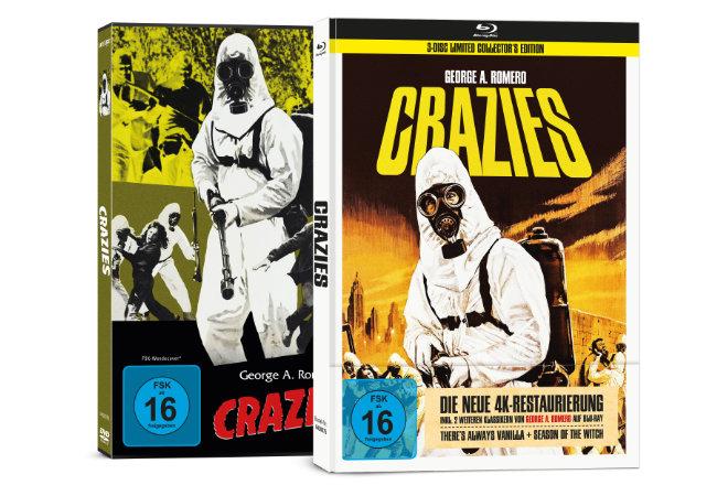 """Der Horror-Thriller """"Crazies"""" ist ab 19.03.2021 auf DVD und als 3-Disc Limited Collector´s Edition im Mediabook, sowie ab 05.03.2021 digital erhältlich."""
