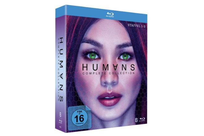 """""""Humans - The Complete Collection"""" mit allen drei Staffeln der Serie ist ab 19.03.2021 auf DVD und Blu-ray erhältlich."""