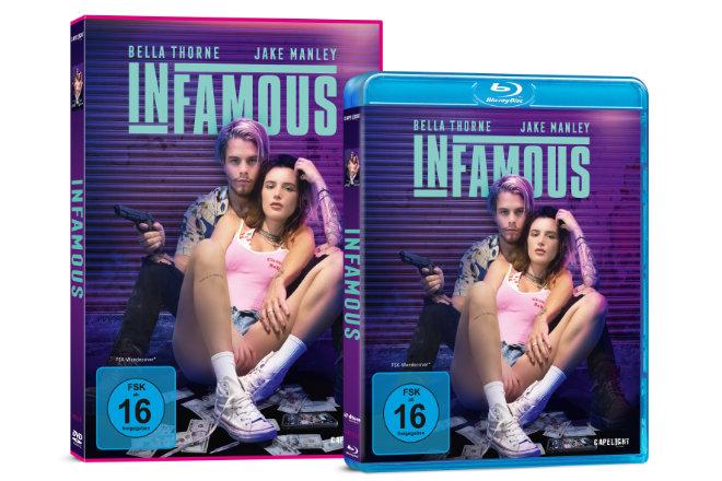 """""""Infamous"""" ist ab 16.04.2021 als DVD und Blu-ray sowie ab 09.04.2021 digital verfügbar."""