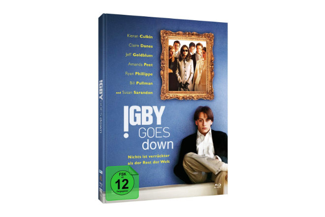 """Die Komödie """"Igby Goes Down - Nichts ist verrückter als der Rest der Welt"""" aus dem Jahr 2002 ist ab 06.11.2020 erstmals als Blu-ray in einem limitierten Mediabook erhältlich."""