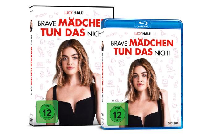 """Die Liebeskomödie """"Brave Mädchen tun das nicht"""" gibt es ab 29.01.2021 auf DVD und Blu-ray sowie ab 22.01.2021 digital."""
