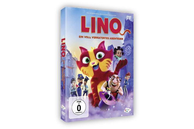 """Am 14.08.2020 erscheint """"Lino - Ein voll verkatertes Abenteuer"""" auf DVD."""