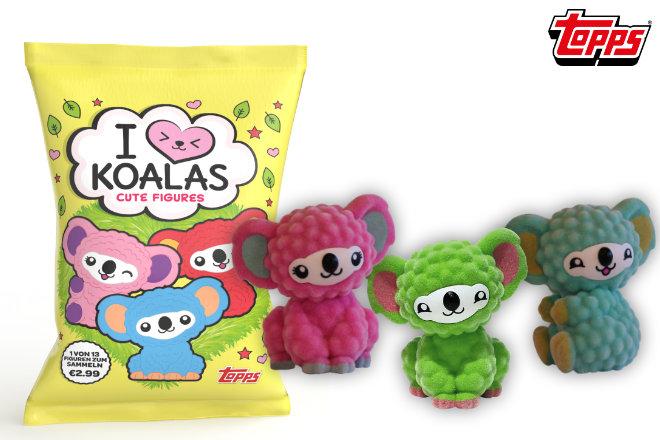 """Neuer Sammel- und Spielspaß inklusive Sticker: Starten Sie jetzt Ihre """"I ♥ Koalas""""-Sammlung und gewinnen Sie eines von 3 """"I ♥ Koalas""""-Paketen."""