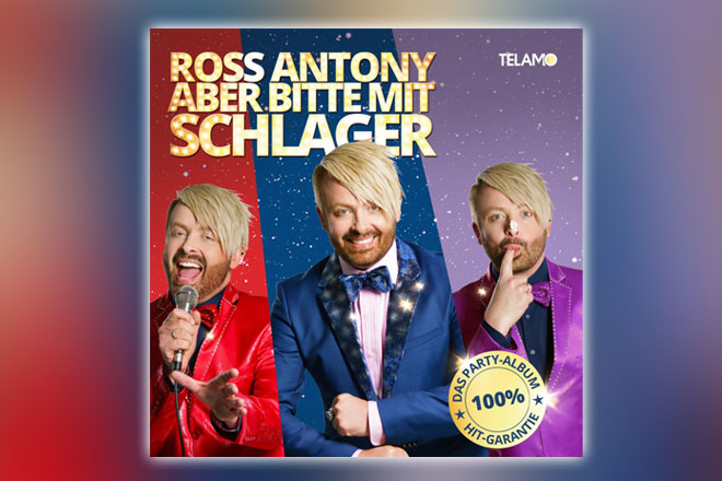 Neues Album Aber Bitte Mit Schlager Von Ross Anthony Ab 08092017