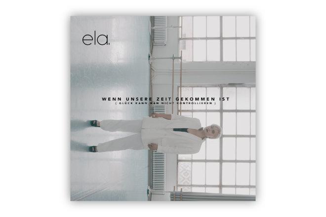 """Neue Singleauskopplung der Singer-Songwriterin ela: """"Wenn unsere Zeit gekommen ist"""""""