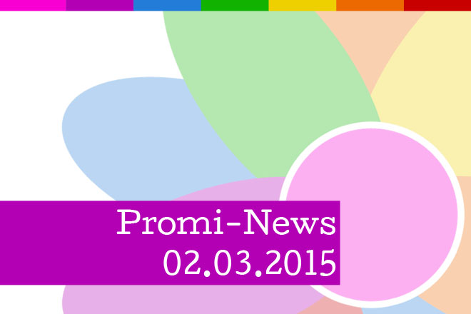 Prominews am Montag, den 02.03.2015