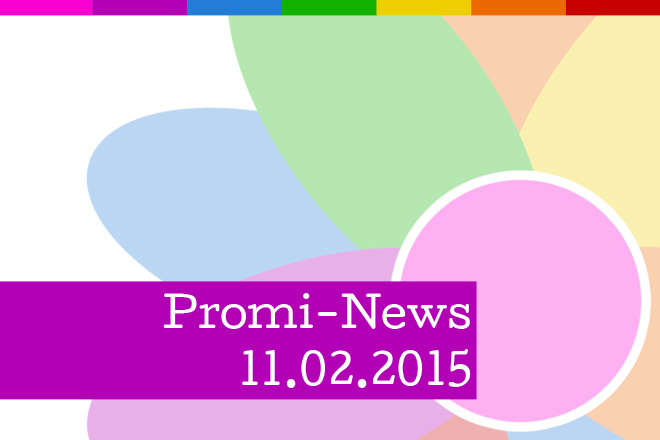HappySpots Promi-News vom 11.02.2015