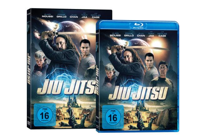 "Der Sci-Fi-Martial-Arts-Film ""Jiu Jitsu"" ist ab 12.03.2021 als DVD und Blu-ray sowie ab 05.03.2021digital verfügbar."