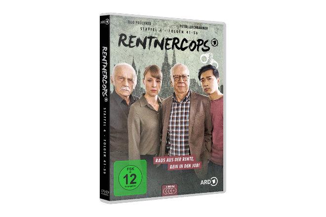 """Die vierte Staffel """"Rentnercops"""" ist ab 25.09.2020 auf DVD und digital erhältlich."""