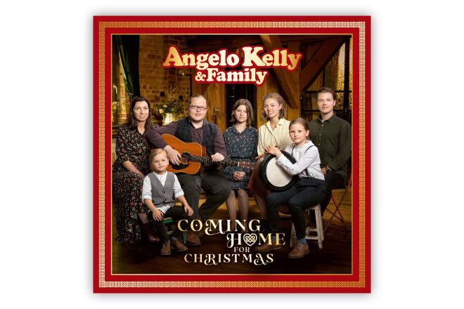"Das Weihnachtsalbum ""Coming Home For Christmas"" von Angelo Kelly & Family ist ab 27.11.2020 erhältlich."